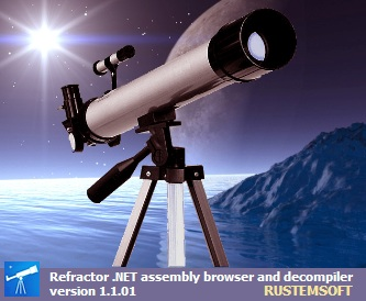 Click to view Refractor freeware .NET Decompiler 5.01.31 screenshot